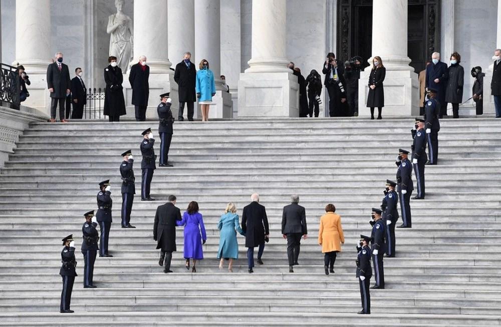 Joe Biden'ın yemin töreninden kareler (ABD'nin 46. Başkan Joe Biden göreve başladı) - 8