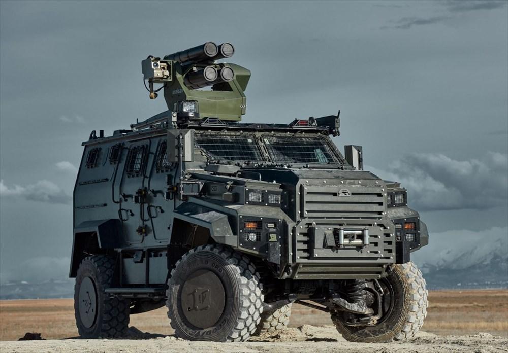 Dijital birliğin robot askeri Barkan göreve hazırlanıyor (Türkiye'nin yeni nesil yerli silahları) - 213