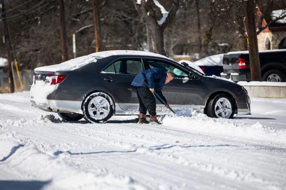 Teksas'ta kar fırtınası: En az 21 kişi hayatını kaybetti - 4