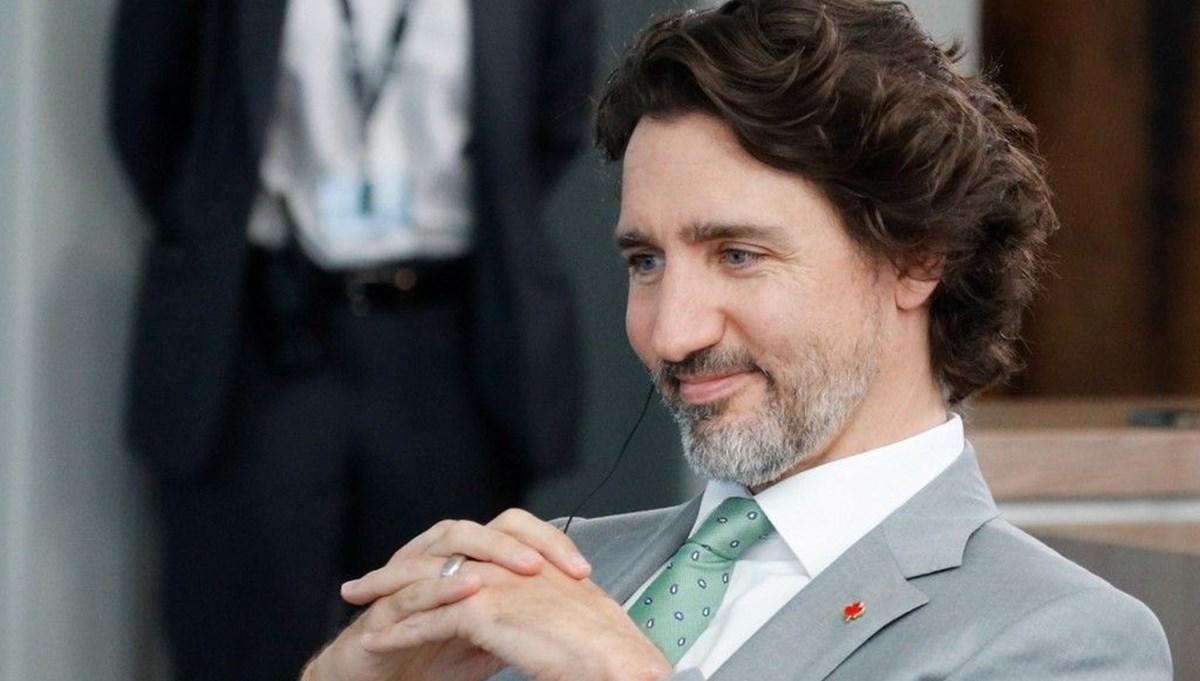 Kanada Başbakanı Justin Trudeau'nun NATO zirvesine damga vuran çorapları