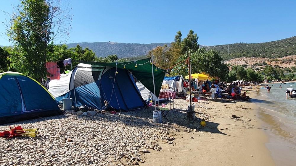 Sahiller çadır kente döndü: Günlüğü 45 liraya tatil - 3