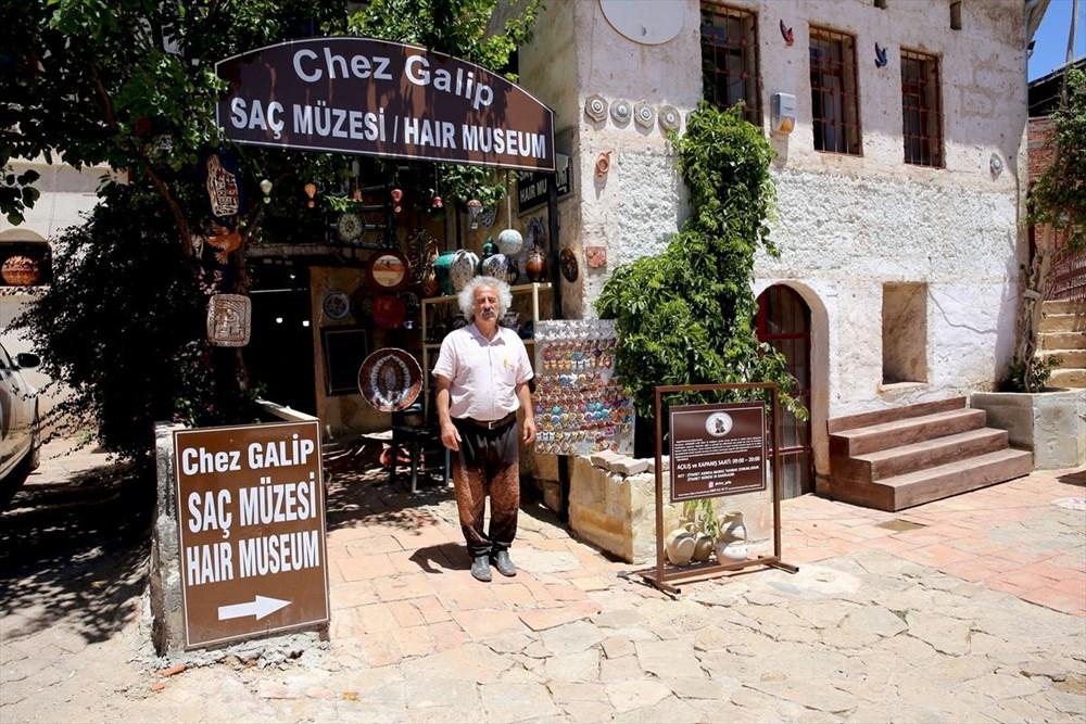 Dünyanın en ilginç müzelerinden biri: Kapadokya Saç Müzesi - 19