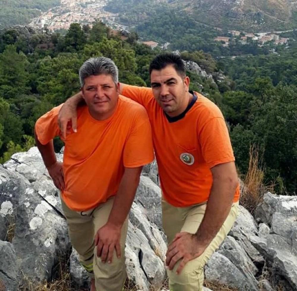Muğla'da 'orman şehidi' törenle son yolculuğuna uğurlandı - 13