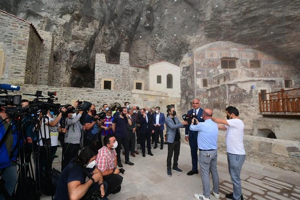 Sümela Manastırı 5 yıl sonra ziyarete açıldı - 4