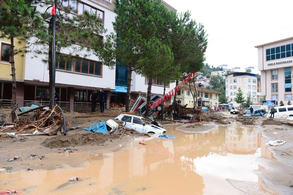 Giresun'u sel vurdu: 4 kişi hayatını kaybetti - 7