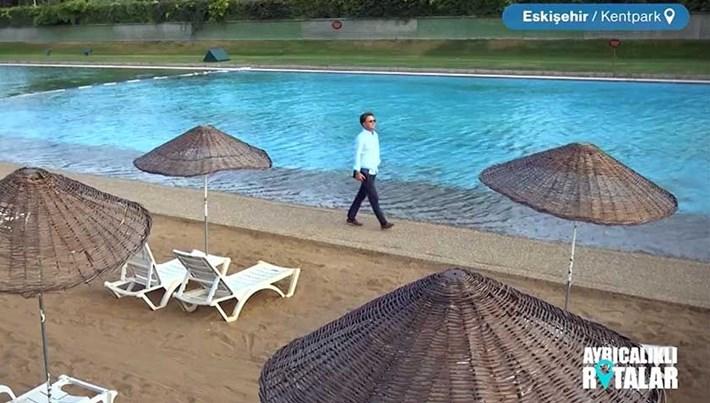 Bozkırın ortasında plaj: Kentpark