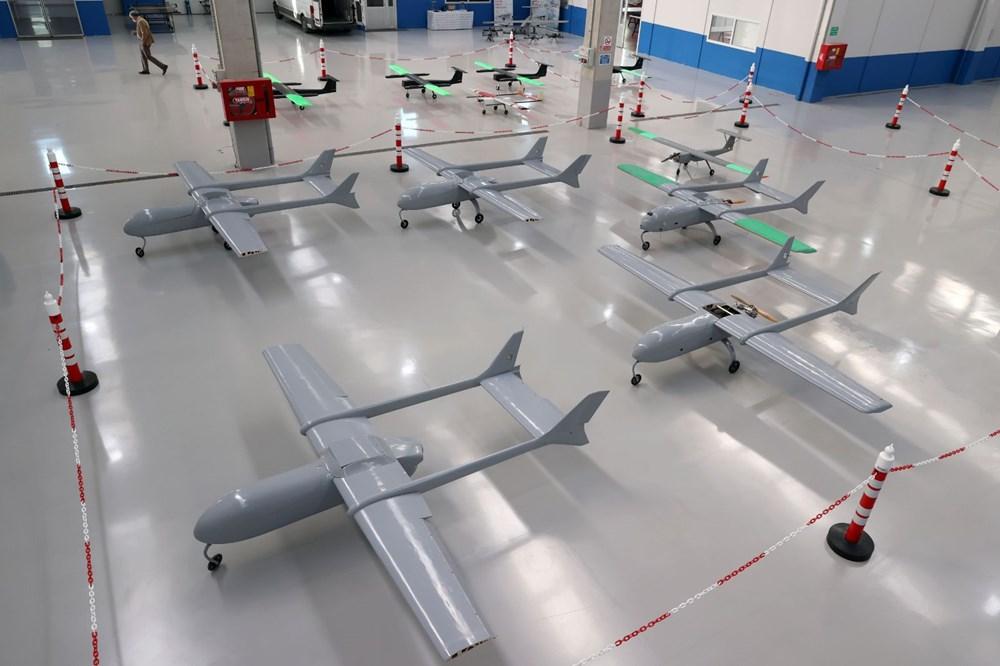 Türkiye'nin yeni İHA fabrikası üretime başladı - 2