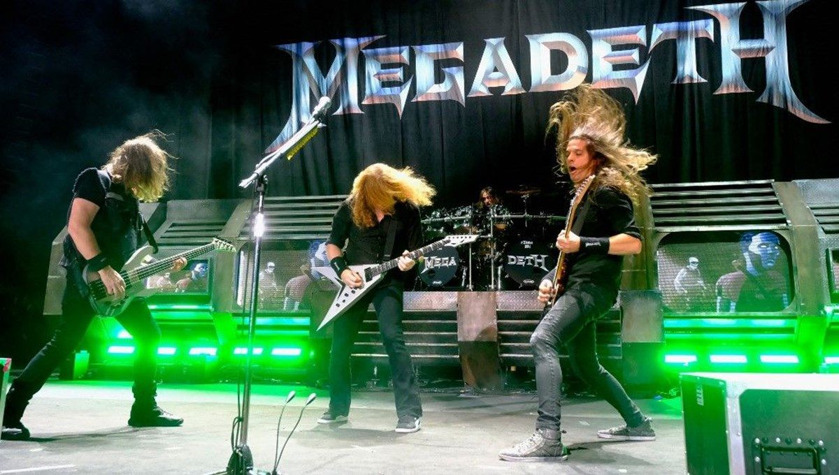 Megadeth maskotunu NFT olarak satacak