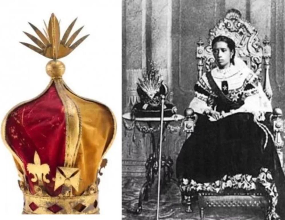 123 yıldır Fransa'da bulunan Kraliçe III. Ranavalonana'ya ait taç iade edildi - 4