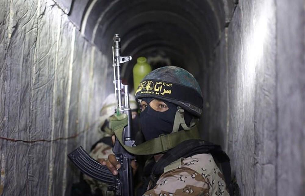 Hamas'ın Gazze'de kullandığı tüneller görüntülendi: İsrail'in hedefinde - 26