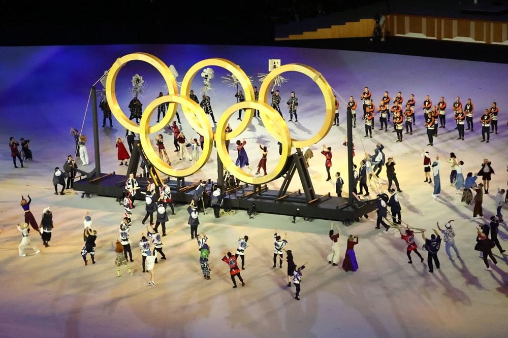 2020 Tokyo Olimpiyatları görkemli açılış töreniyle başladı - 49