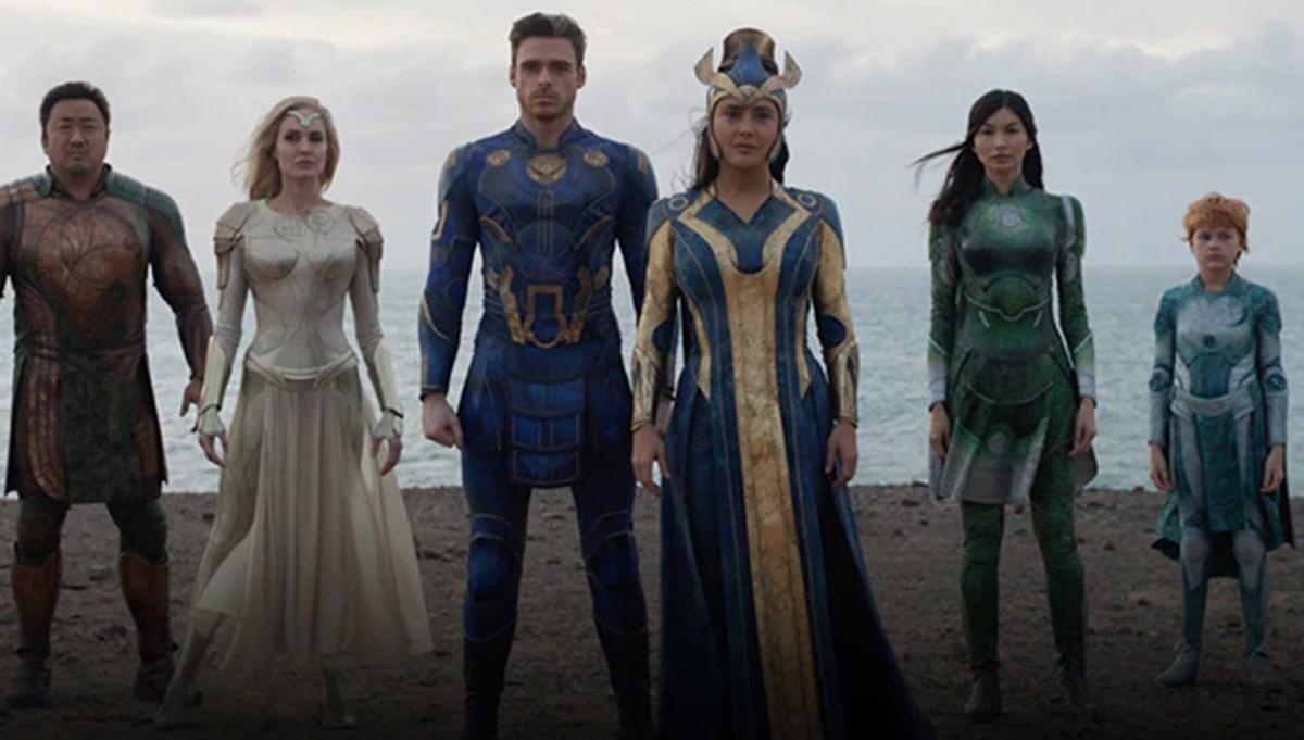 Merakla beklenen Marvel filmi Eternals'tan yeni fragman