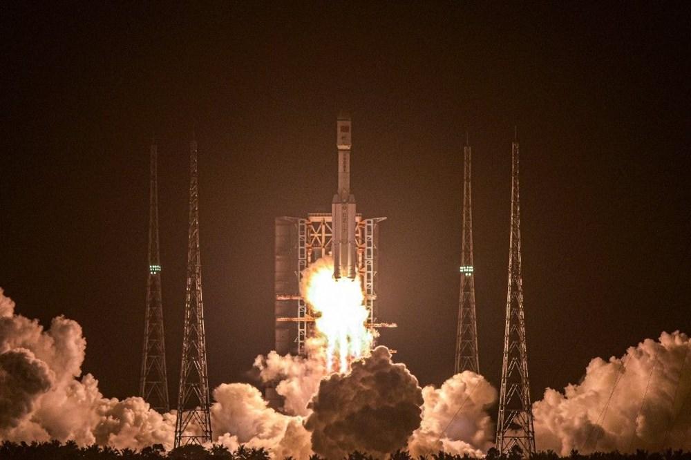 Çin'in uzay kargo gemisi Tiencou-2 yörüngeye yerleşti - 1