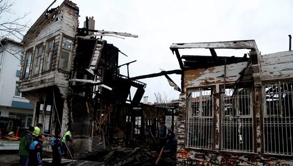 Tekirdağ'da Çalıkuşu romanının yazıldığı tarihi evde yangın