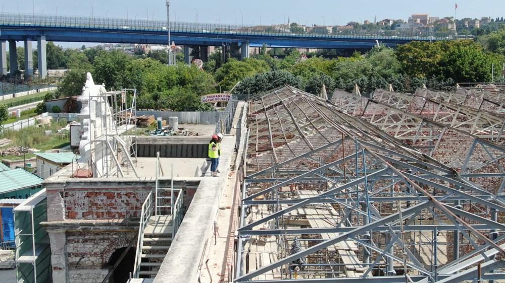 Müze olacak Feshane'nin restorasyonunun yüzde 60'ı tamamlandı - 12