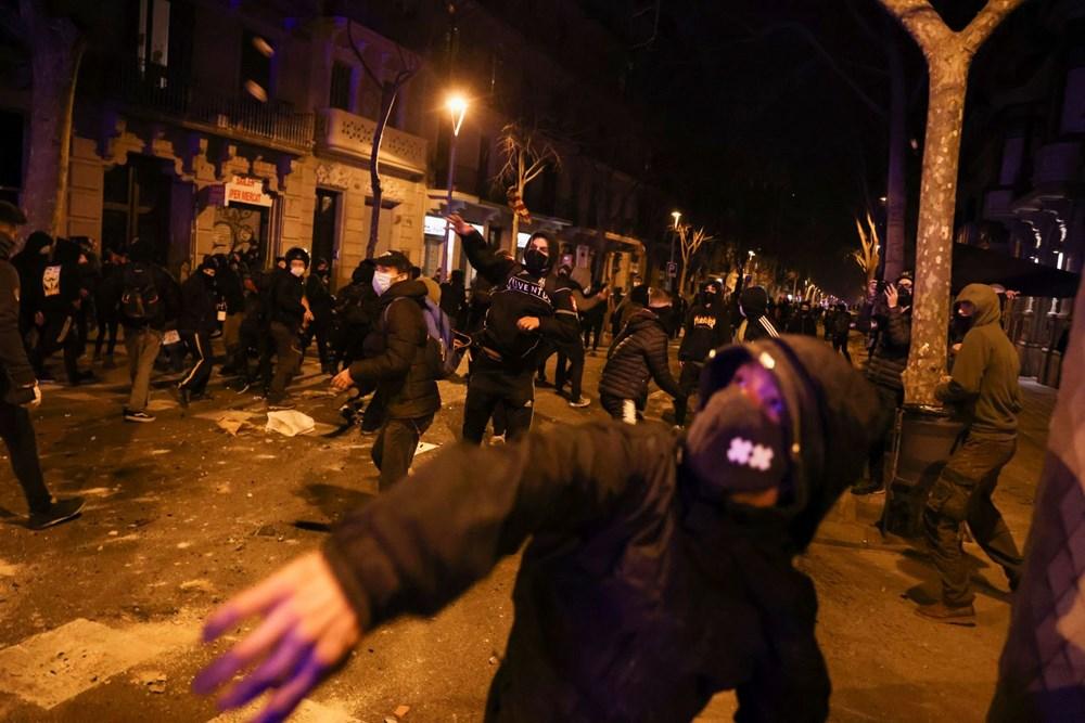 İspanya'da tutuklanan rapçi Hasel'e destek gösterileri üçüncü gününde - 10