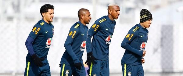 Talisca Brezilya antrenmanında