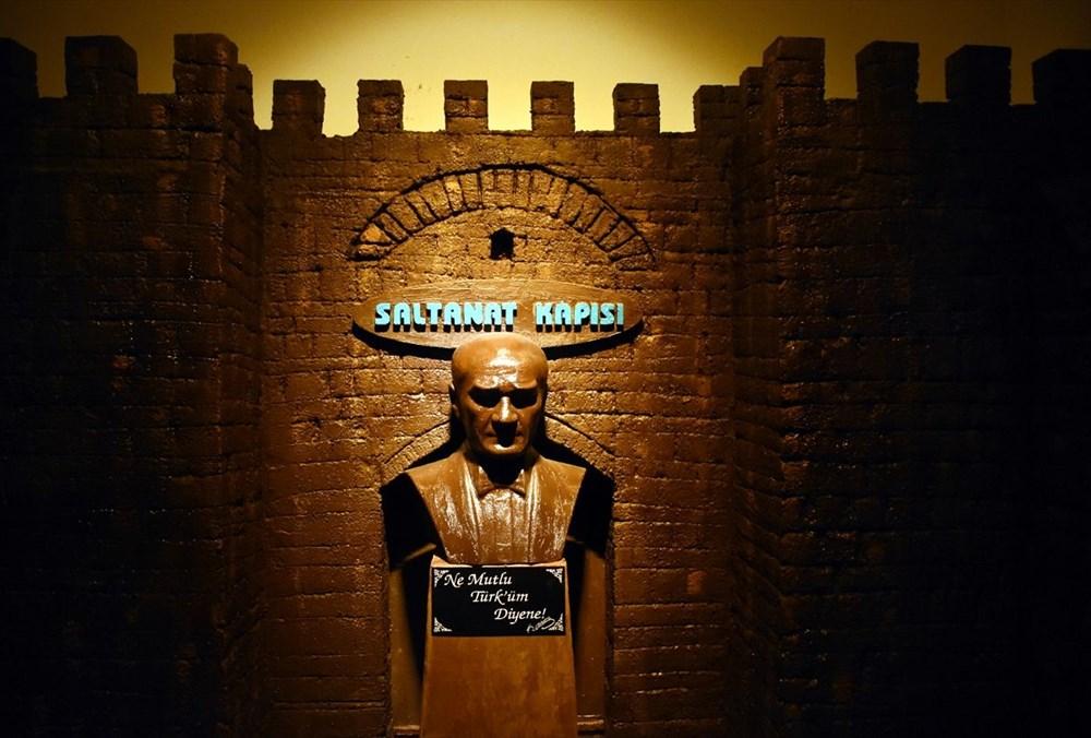 Bursa'nın en tatlı müzesi: 8 ton çikolata kullanıldı (Bursa Çikolata Müzesi) - 15
