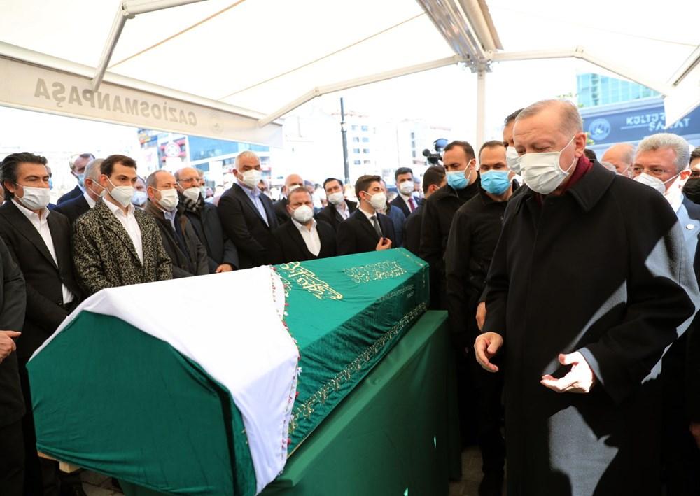 Soylu'nun annesi için tören düzenlendi (Cumhurbaşkanı Erdoğan da katıldı) - 8