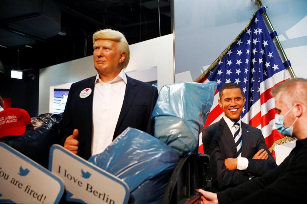 Madame Tussauds müzesi Trump heykelini çöpe attı - 4