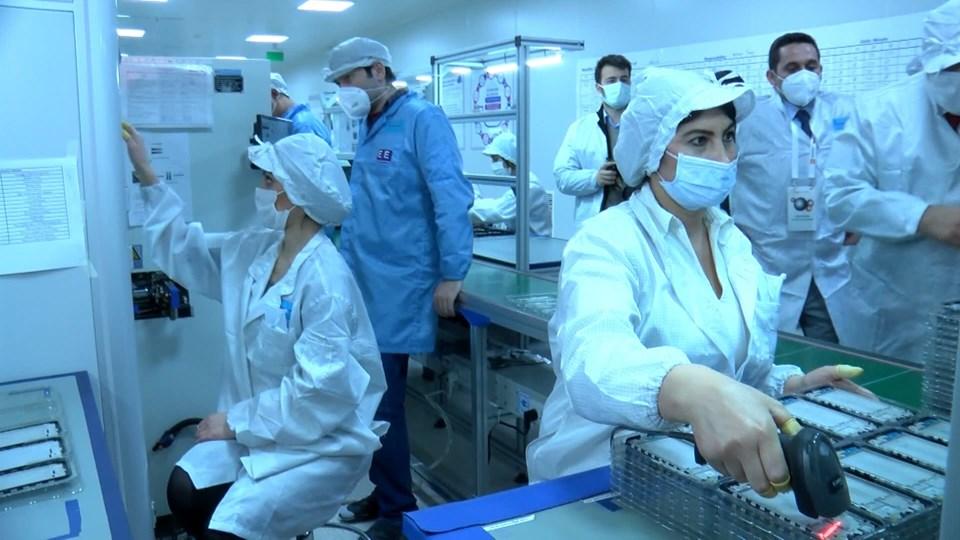 Xiaomi'nin Türkiye fabrikasının içinden görüntüler