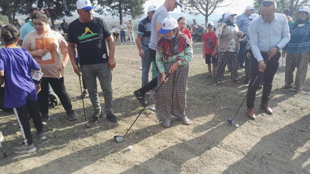 Köylülerin golf eğlencesi - 6