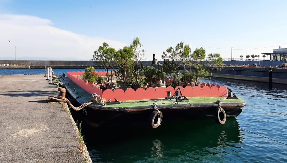 5. İstanbul Tasarım Bienali'nden yeni bir yerleştirme: Büyükada Şarkı Hatları
