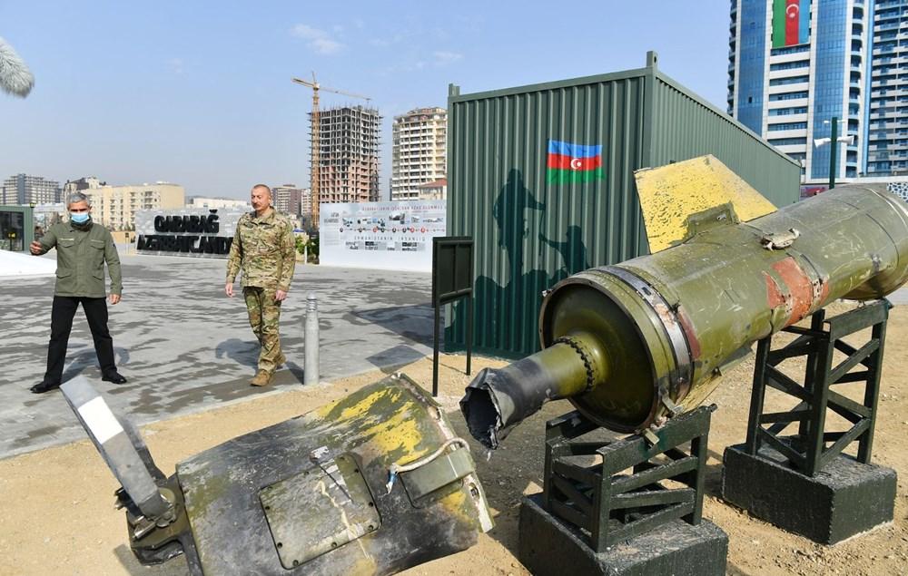 Azerbaycan'da 'Savaş Ganimetleri Müzesi' | NTV