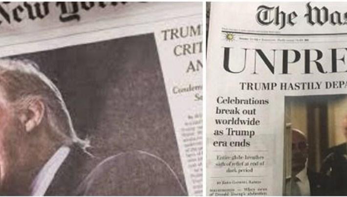 Beyaz Saray'dan federal kuruluşlar için Washington Post ve NYT hamlesi