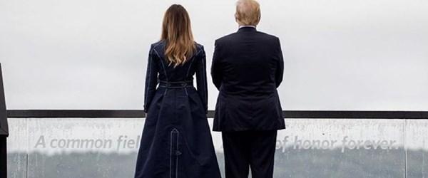 Beyaz Saray'dan Melania Trump'ın ceketiyle ilgili açıklama: Saçmalık (Tartışılan ve konuşulan kıyafetleri)