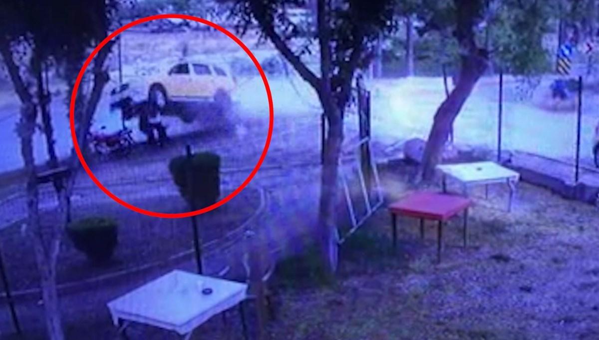 Taksi insanların üzerine düştü (Şoför 171 promil alkollü çıktı)