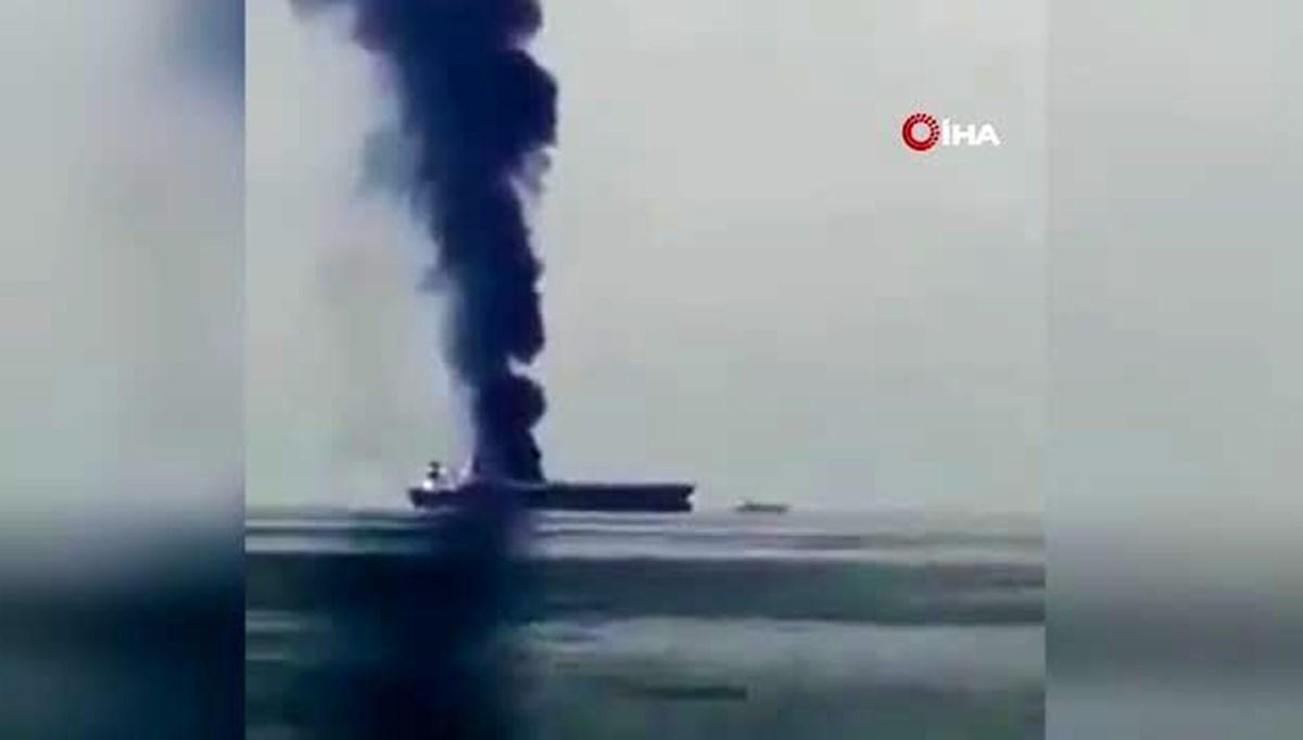 Azak Denizi'nde Rusya'ya ait petrol tankerinde patlama