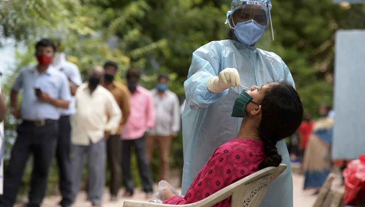 Hindistan'ta bir günde 84 binden fazla vaka