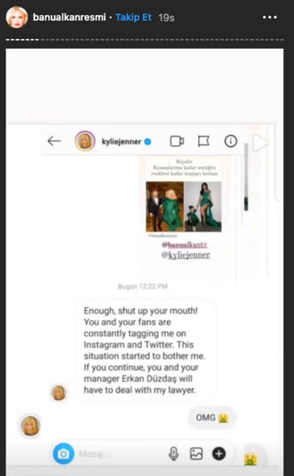 Bu hikayede bir gariplik var: Kylie Jenner'dan Banu Alkan'a mesaj - 4