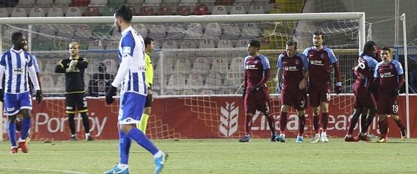 Trabzonspor'dan farklı galibiyet