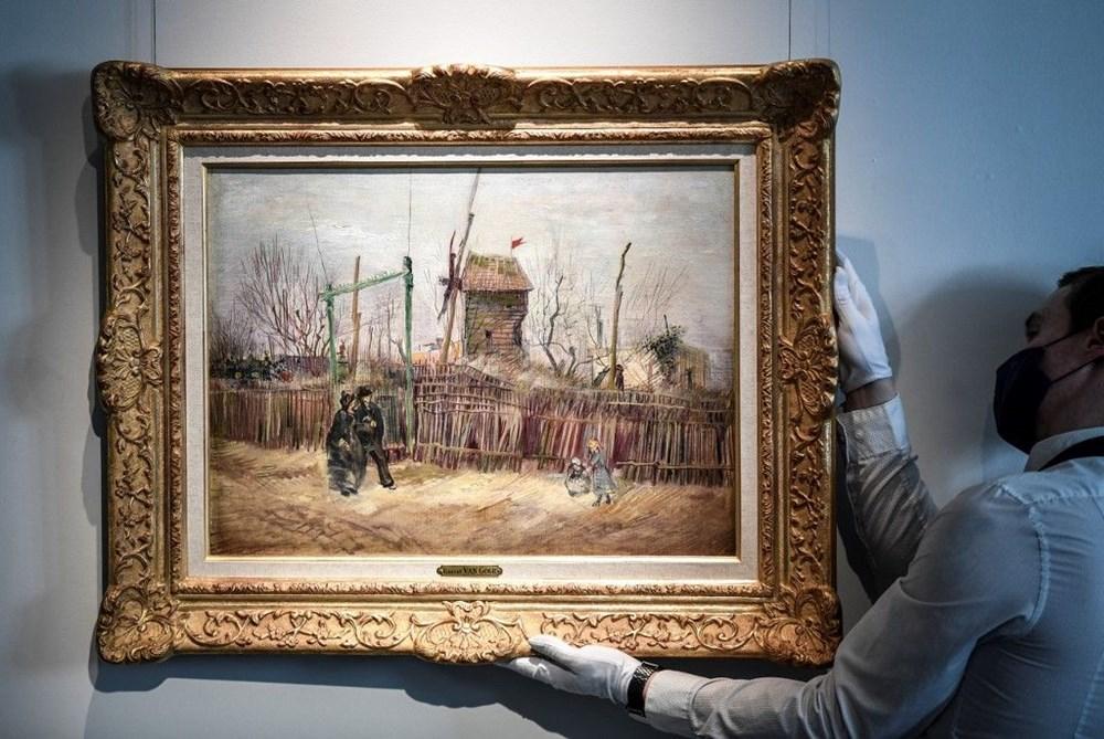 Van Gogh'un Montmartre eseri ilk defa görüntülendi: 6,9 milyon sterline alıcı bulacak - 2