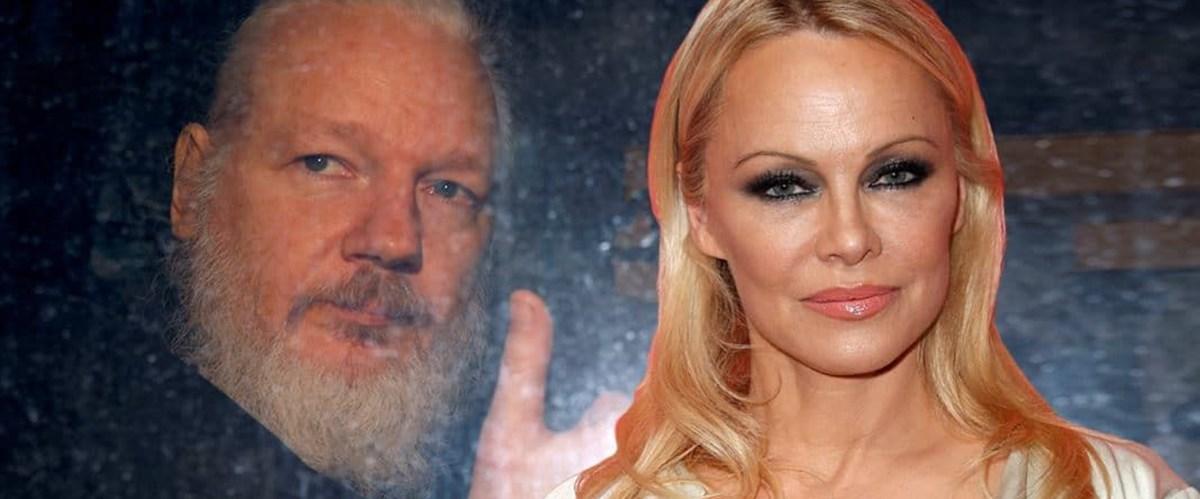 Pamela Anderson'dan Trump'a Assange için 'son çağrı'