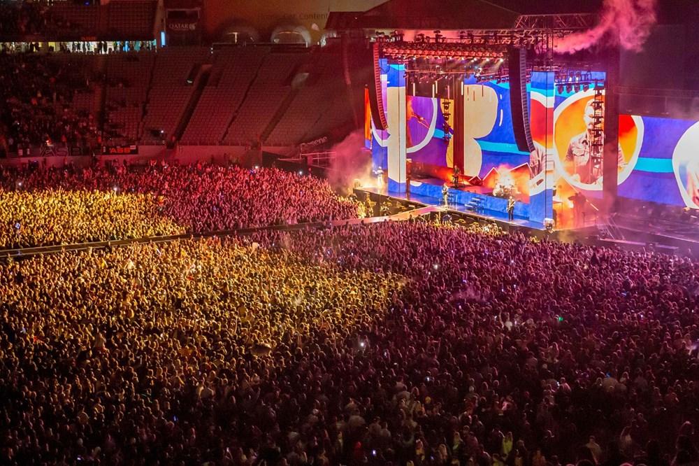 Dünya karantinadayken Yeni Zelanda'da 50 bin kişilik konser - 17