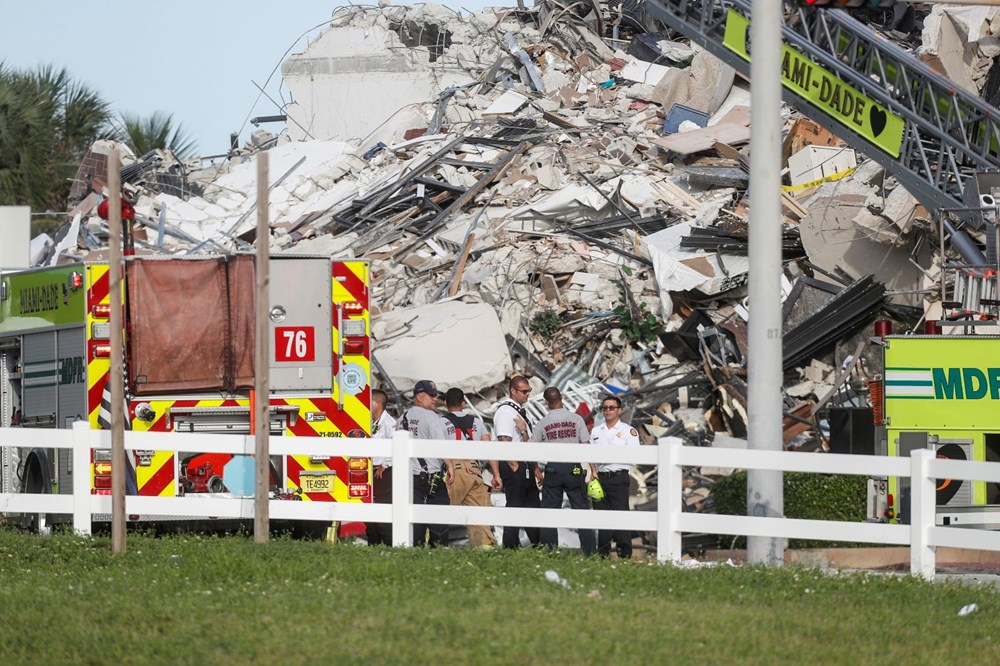 Building collapsed in the USA: Loss of life increased to 4, 159 people are missing - 6