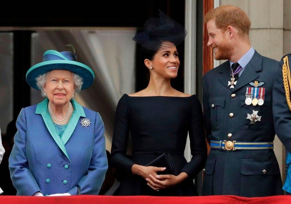 Meghan Markle'ın kraliyeti sarsan Oprah Winfrey röportajı sonrası Kraliçe Elizabeth ilk kez konuştu - 4