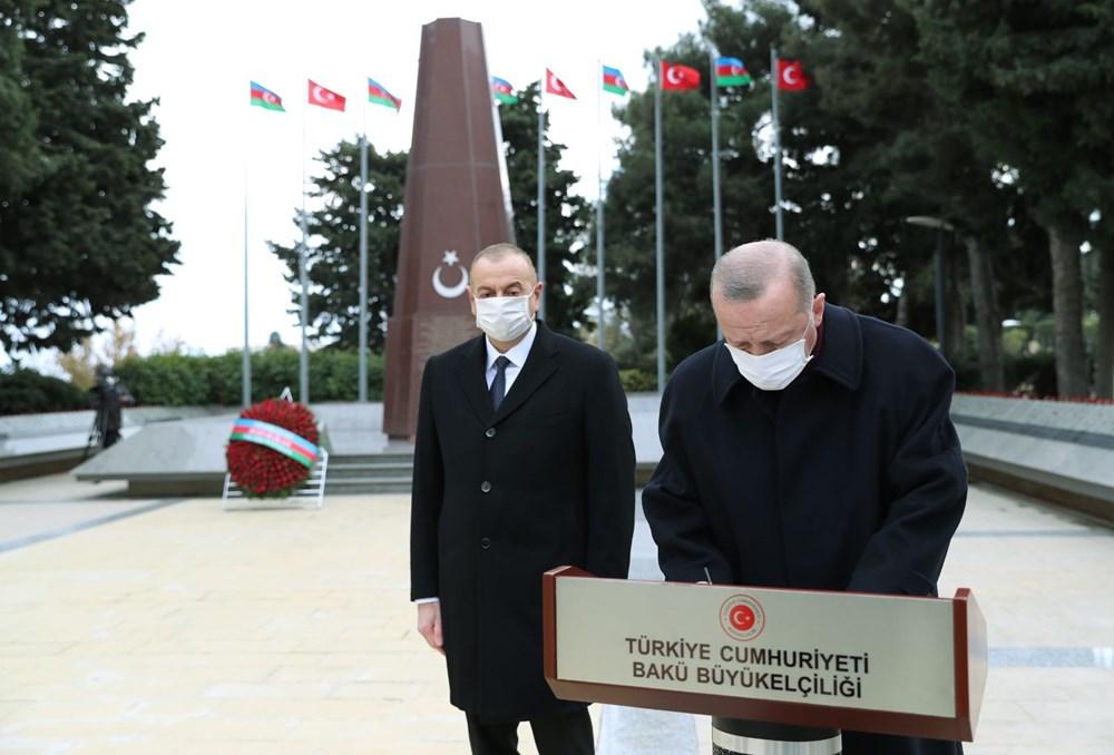 Bakü'de Karabağ zaferi kutlaması - 4
