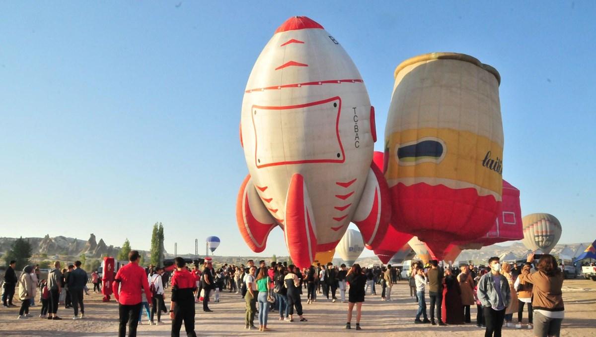 Nevşehir'de 2. Uluslararası Kapadokya Balon Festivali başladı