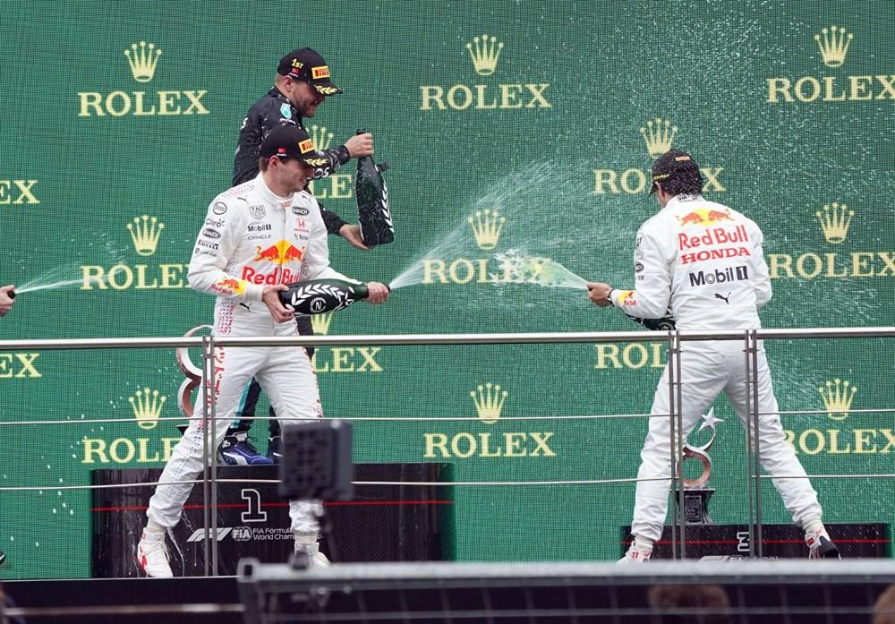 Formula 1 Türkiye Grand Prix'sinde kazanan Valtteri Bottas - 6