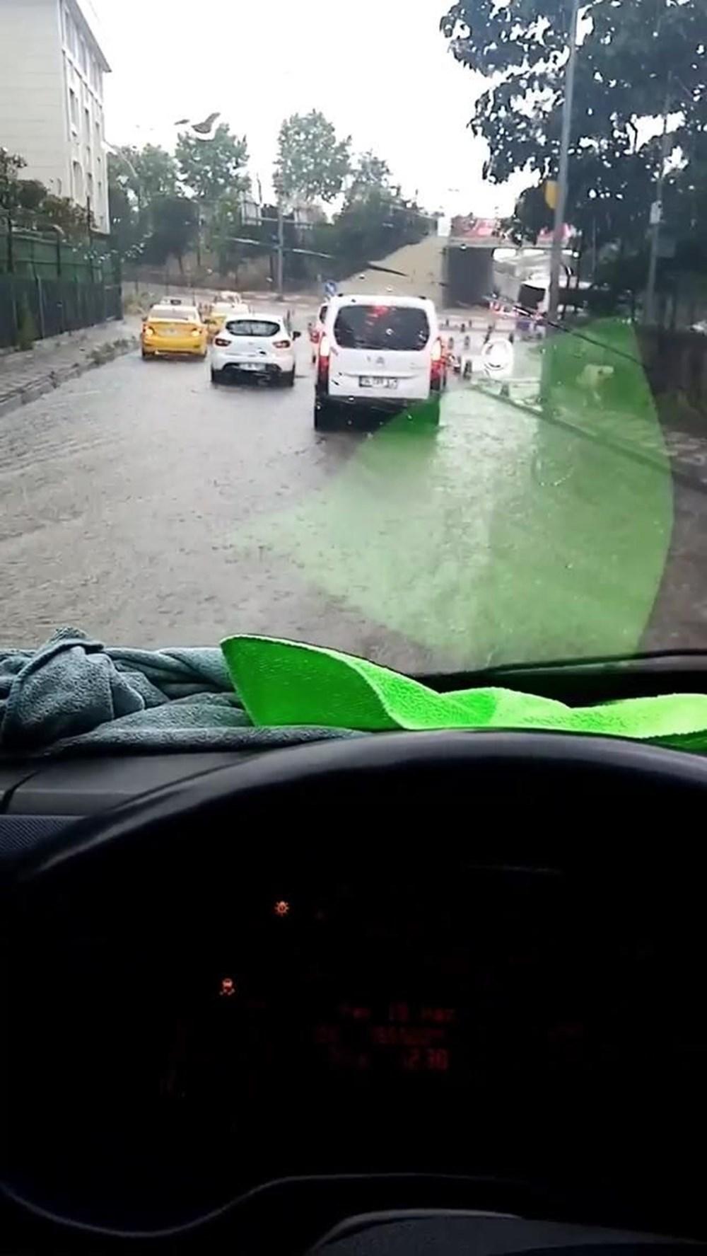 İstanbul'da şiddetli yağış ve dolu - 8