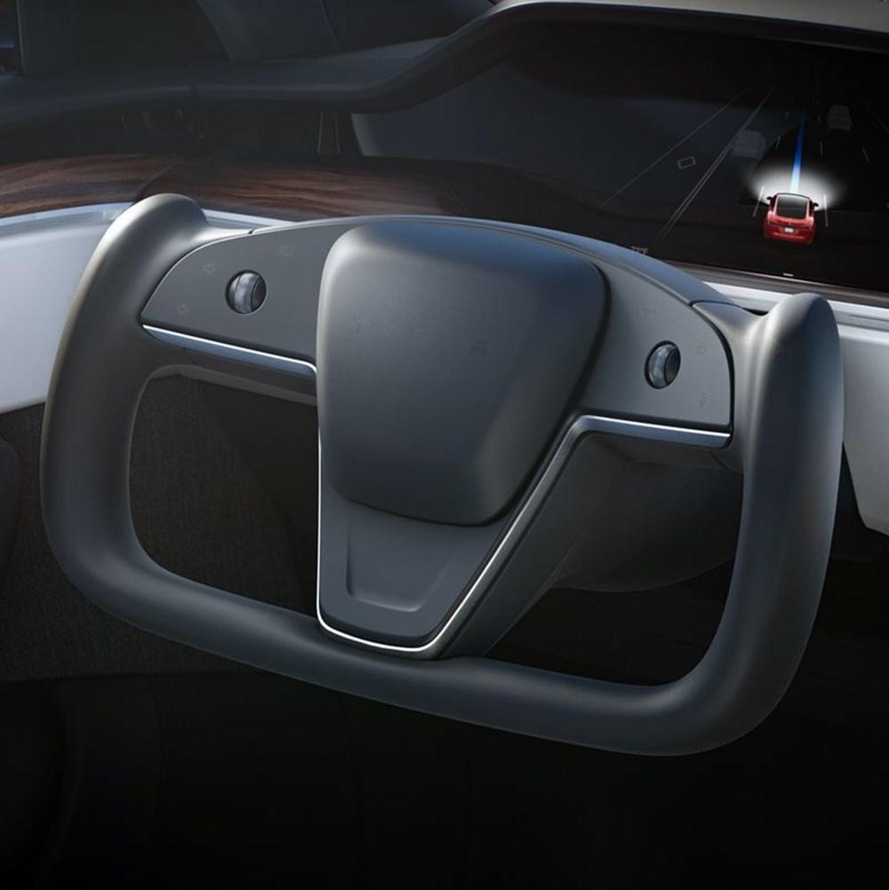 Tesla Model S'in yeni kokpit görselleri yayınlandı - 3