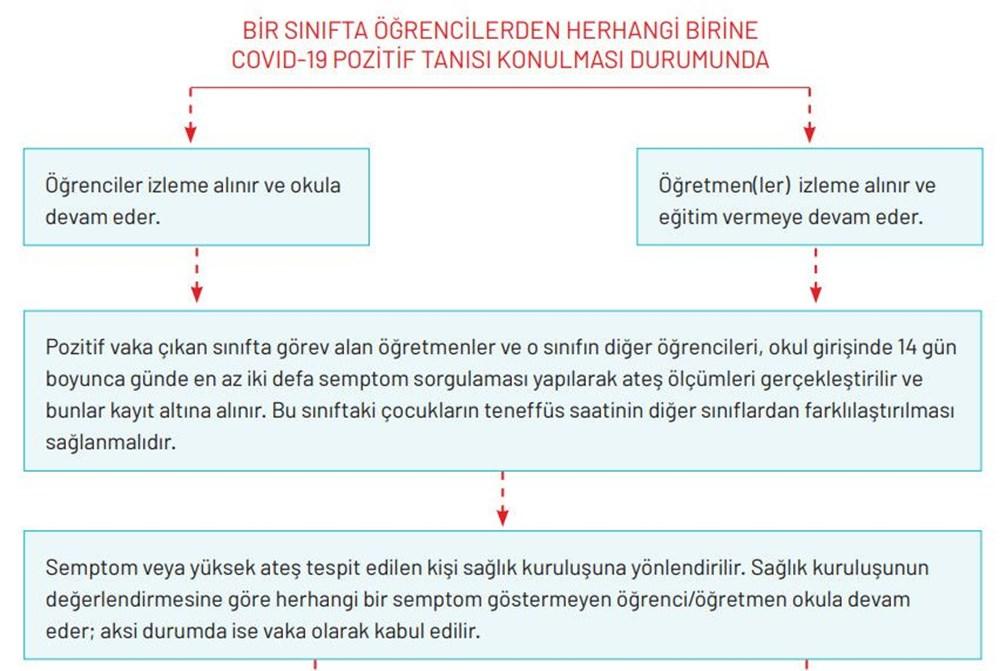 Milli Eğitim Bakanlığı okullar için Covid-19 rehberini yayımladı - 3