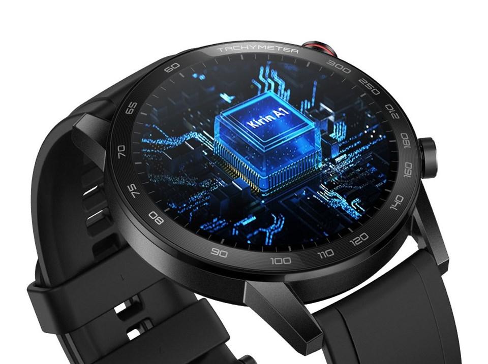 Honor Magic Watch 2Kirin A1 işlemciye ev sahipliği yapıyor.