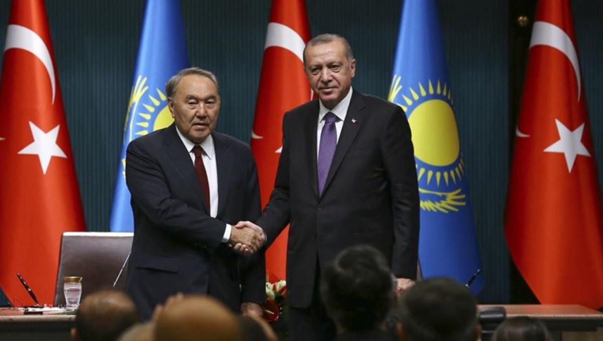 SON DAKİKA:Cumhurbaşkanı Erdoğan, Kazakistan'ın kurucu Cumhurbaşkanı Nazarbayev ile telefonda görüştü