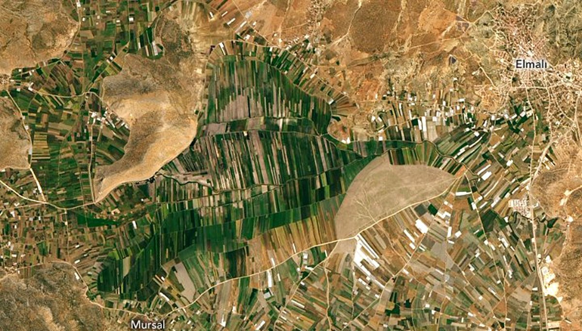 Uzaydan Antalya (NASA paylaştı)