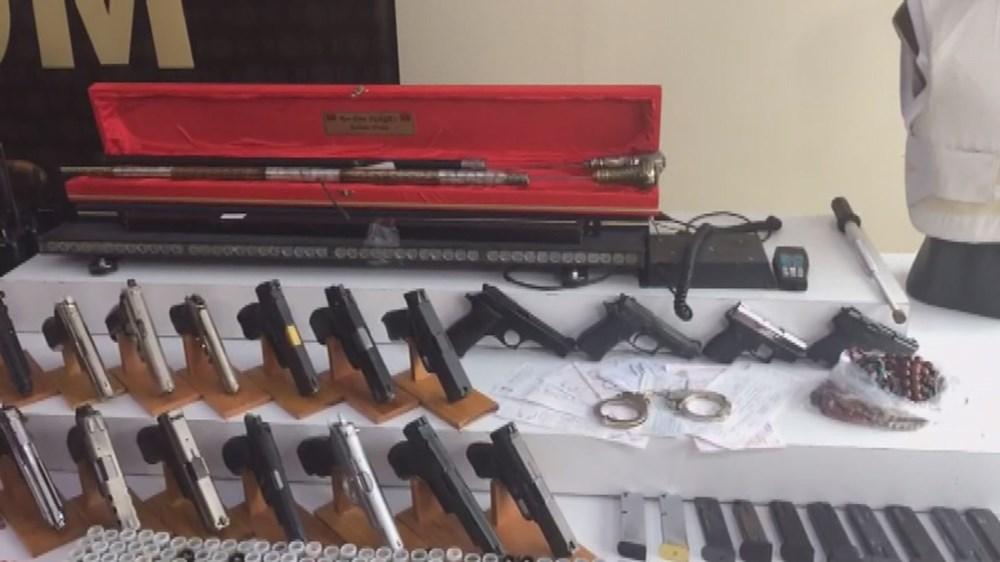 İşte Sedat Peker operasyonunda ele geçirilen silahlar - 12